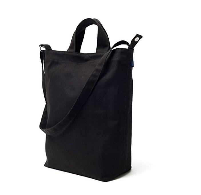 Cotton canvas carry & shoulder bag