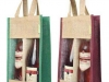 Jute wine bag with PVC