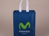 Lamianted nonwoven promotion bag