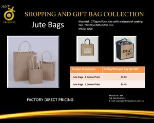 Jute Bags replacing banned bags