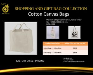 Cotton Canvas Bags replacing banned bags