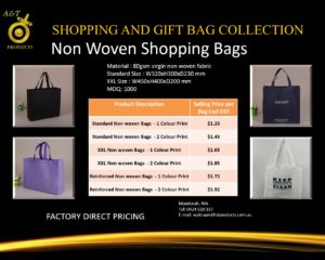 Non Woven Shopping Bags replacing banned bags