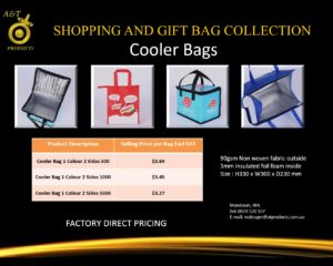 Cooler Bags replacing banned bags
